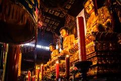 Three buddhas, China Royalty Free Stock Image