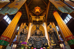 Three buddhas, China Stock Image