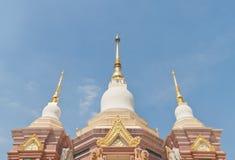 Three Buddhist pagoda Stock Photo