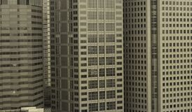 Three Buildings Royalty Free Stock Photo