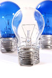 Three bulbs Royalty Free Stock Photos