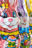 Three Bunnies in a Row Royalty Free Stock Images