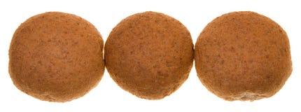 Three buns Royalty Free Stock Image