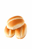 Three buns Stock Images