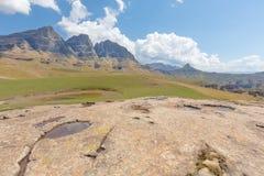 The Three Bushmen Peaks Royalty Free Stock Images