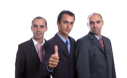 Three business men Royalty Free Stock Photography