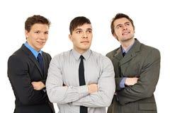 Three business people Stock Photos