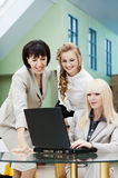 Three business woman Stock Image