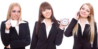 Three business women Stock Image