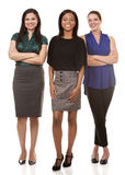 Three business women Royalty Free Stock Image