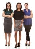 Three business women Royalty Free Stock Image