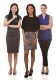 Three business women Stock Photos