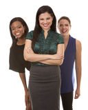 Three business women Royalty Free Stock Images