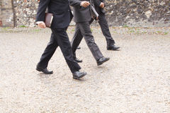Three businessmen Stock Image