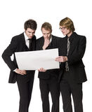 Three businessmen Royalty Free Stock Images