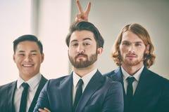 Three businessmen Royalty Free Stock Image
