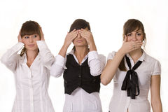 Three businesswomen Stock Image