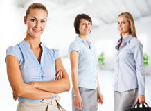 Three businesswomen Stock Photo