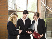 Three businesswomen Royalty Free Stock Image