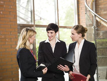 Three businesswomen Royalty Free Stock Photo