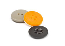 Three Buttons Stock Images