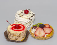 Three cakes Stock Photography