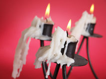 Three candle Royalty Free Stock Photography