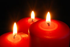 Three candle Royalty Free Stock Photo