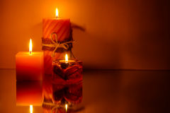 Free Three Candles Stock Image - 10043451