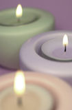 Three_candles Fotografia de Stock