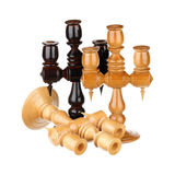 Three candlesticks Royalty Free Stock Photo