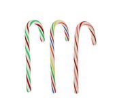Three Candy Canes Stock Photo