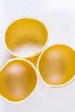 Three Cannelloni. Pasta. Closeup of Three Cannelloni. Pasta Royalty Free Stock Photo