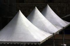 Three canvas roofs Royalty Free Stock Photos