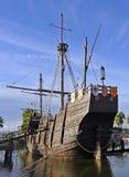 The three caravels of Christopher Columbus, La Rabida, Huelva province, Spain Stock Image