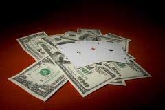 Three Cards Stock Photos
