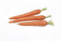 Three carrots Stock Photo