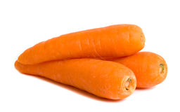 Three Carrots Royalty Free Stock Photos