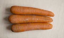 Three carrots Stock Photo