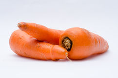 Three Carrots two Stock Photos