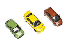 Three cars Stock Images
