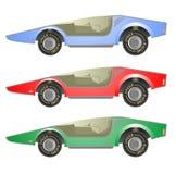 Three cars Royalty Free Stock Image