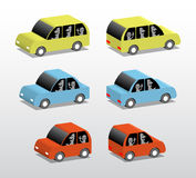 Three cars Royalty Free Stock Photo