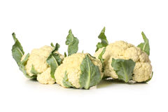 Three cauliflower Royalty Free Stock Photo