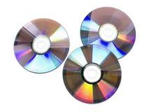Three CD Royalty Free Stock Photography
