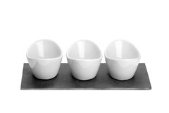 Three ceramic bowl Stock Image