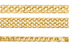 Three chain Stock Images