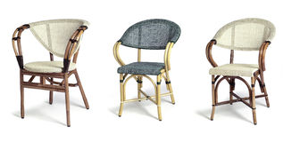 Three chair royalty free stock image