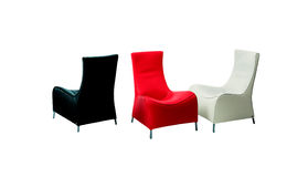 Three chairs Royalty Free Stock Photos