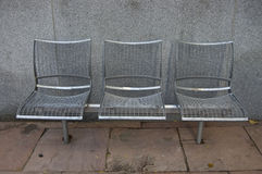Three Chairs Royalty Free Stock Photo